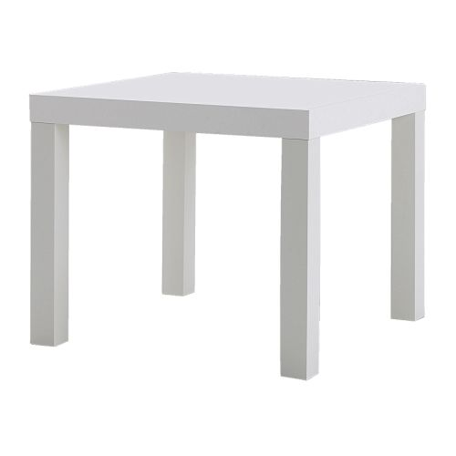 White Coffee Table Near Me: LACK Side Table