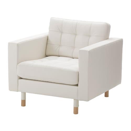 LANDSKRONA Armchair - -, wood - IKEA