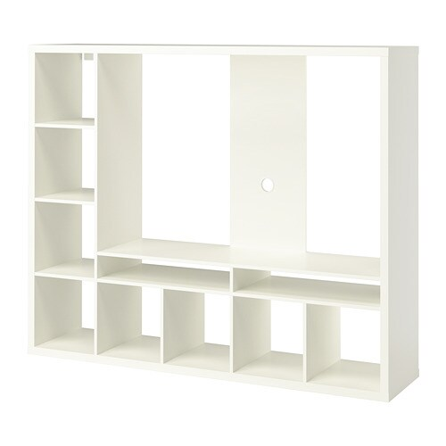 Tv Meubel Expedit Ikea.Lappland Tv Storage Unit White