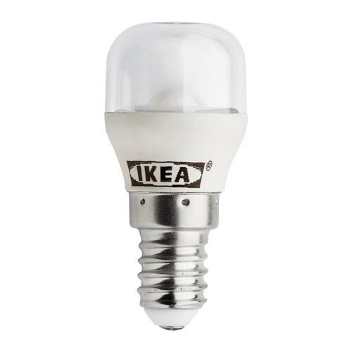 LEDARE LED bulb E14 80 lumen IKEA The LED light source consumes up to 85%