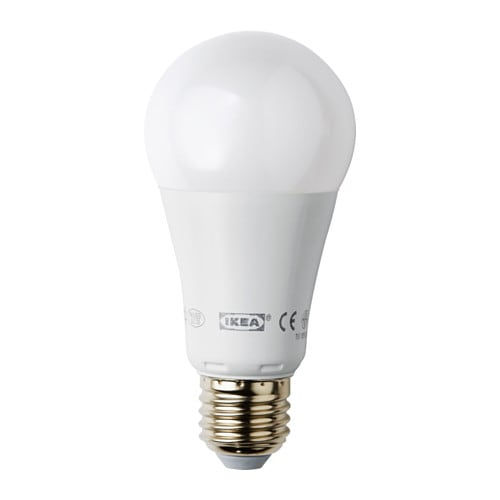 LEDARE LED bulb E27 1000 lumen IKEA The LED light source consumes up to 85% less energy and lasts 20 times longer than incandescent bulbs.