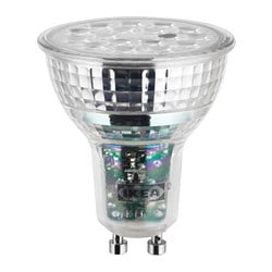 LEDARE LED bulb GU10 600 lumen, warm dimming dimmable