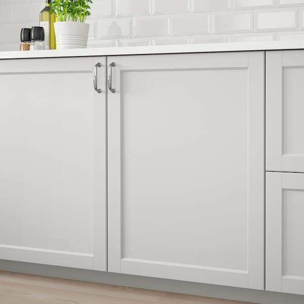 LERHYTTAN Door, light grey, 40x60 cm