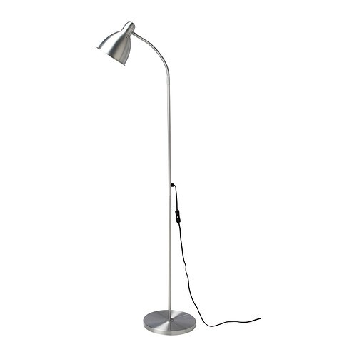 LERSTA Floor/reading lamp IKEA You can easily direct the light where you want it because the lamp arm is adjustable.