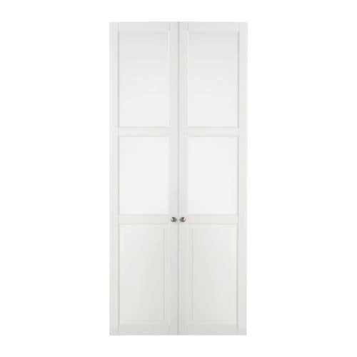 Liatorp Panelglass Door White Ikea