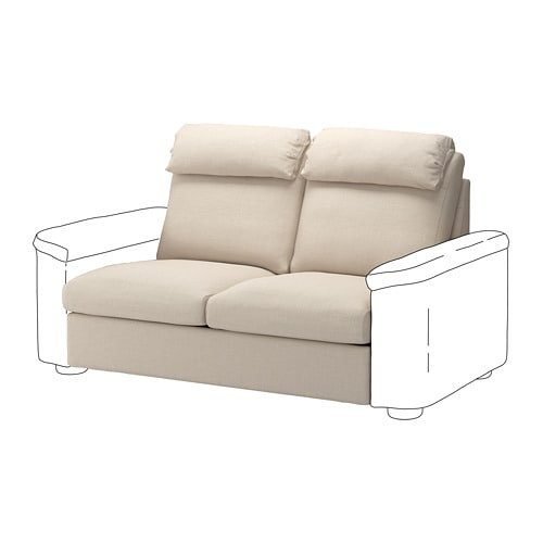 lidhult 2-seat sofa-bed section - gassebol light beige