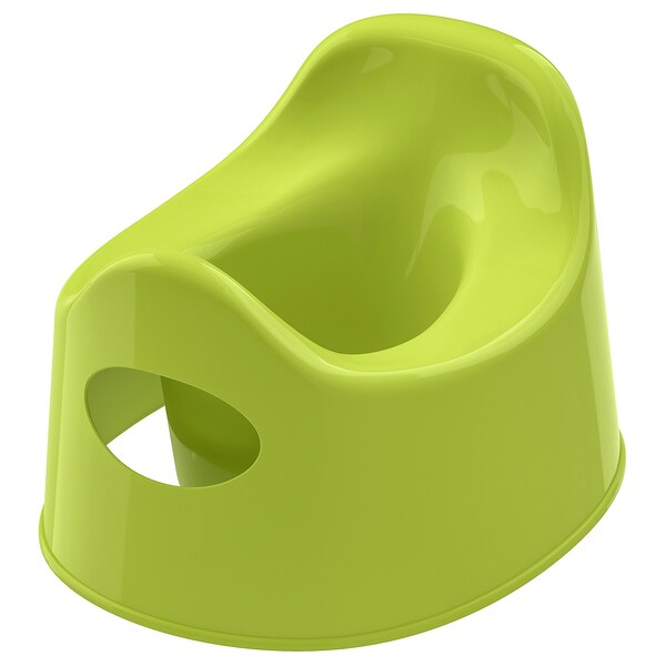 LILLA children's potty green 27 cm 24 cm 18 cm