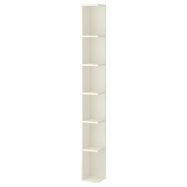 LILLÅNGEN End unit, white, 19x19x179 cm