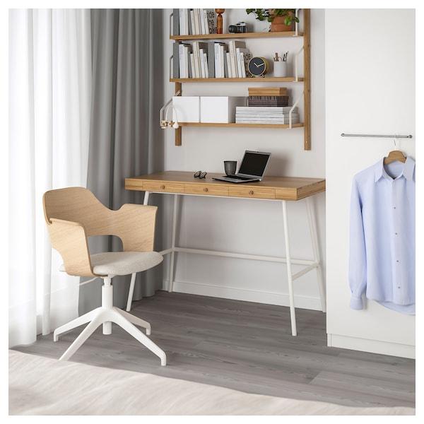 LILLÅSEN Desk, bamboo, 102x49 cm