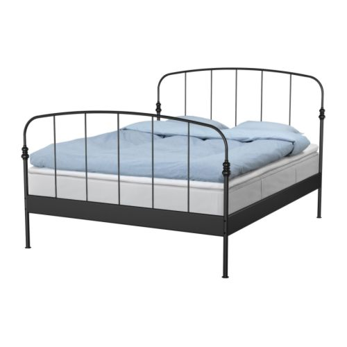 Ikea bed frame midbeam bed frame manufacturersbed frame for Low beds ikea