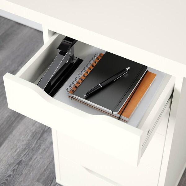 LINNMON / ALEX Table, white, 200x60 cm