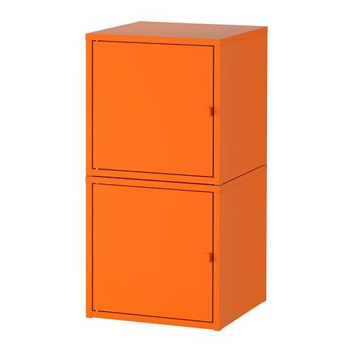 Lixhult Storage Combination Orange Orange Ikea