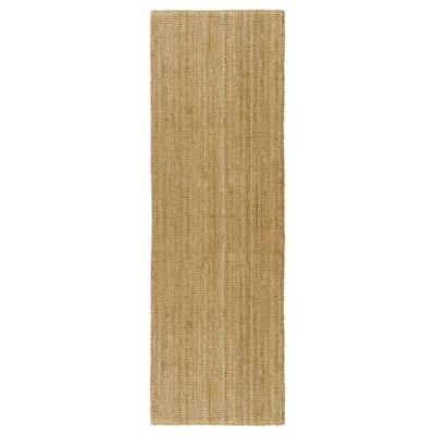 LOHALS Runner, flatwoven, natural, 80x250 cm