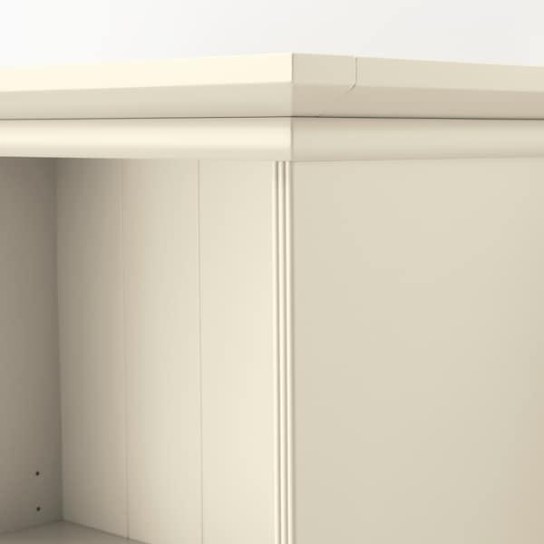 LOMMARP Bookcase, light beige, 65x199 cm
