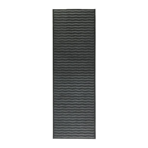 LYNÄS Rug, flatwoven IKEA Ideal for high traffic areas like hallways since the rug is easy to vacuum and maintain.