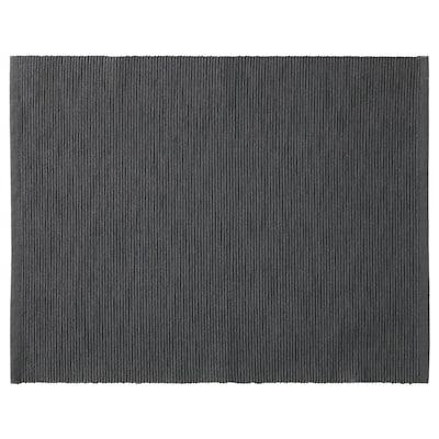 MÄRIT Place mat, black, 35x45 cm