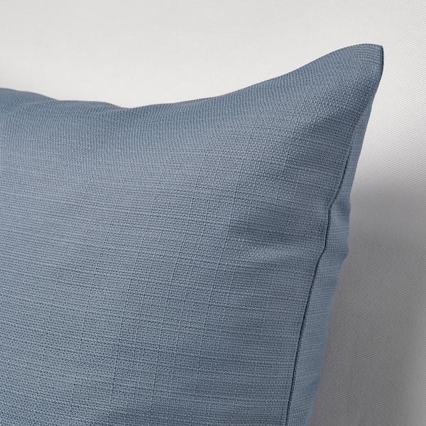 MAJBRÄKEN Cushion cover, grey-blue, 50x50 cm