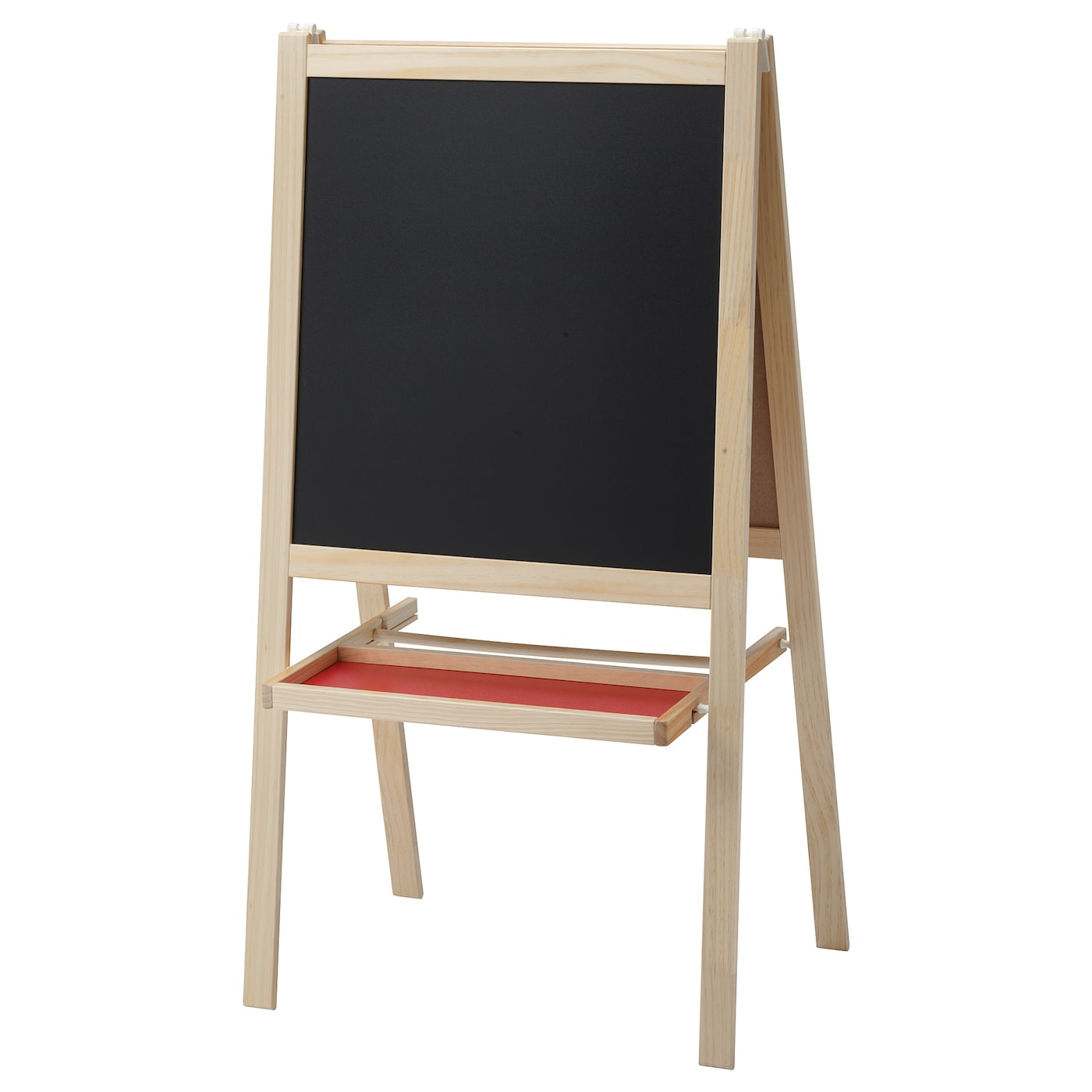 Gray Wooden Base Stand Set of 2 Tabletop Double Sided Chalkboard Display Sign