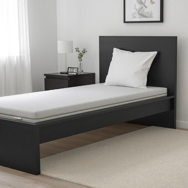 MALFORS Foam mattress, medium firm/white, Single