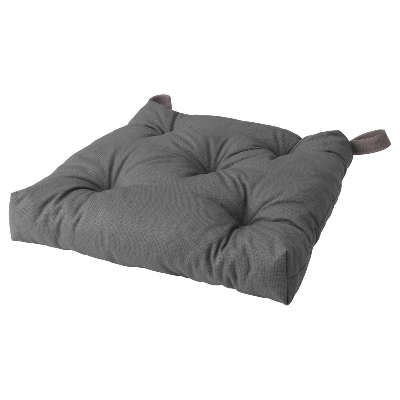 Picture of: Malinda Chair Cushion Grey 40 35x38x7 Cm Ikea