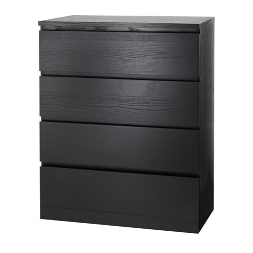 Malm Chest Of 4 Drawers