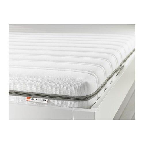 malvik foam mattress double medium firm white ikea. Black Bedroom Furniture Sets. Home Design Ideas