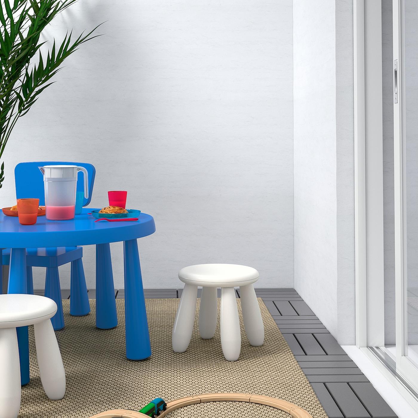 MAMMUT Children's stool, in/outdoor/white