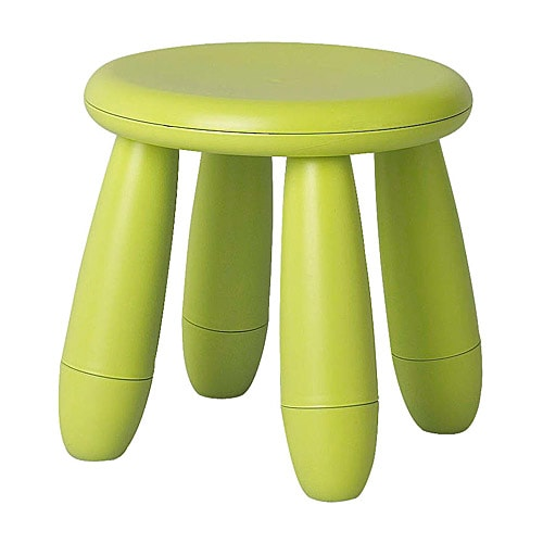 MAMMUT Children's stool IKEA Plastic, durable and easy to clean.