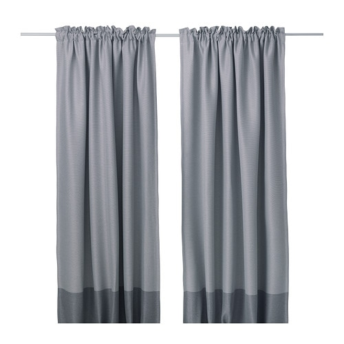 MARJUN Block Out Curtains, 1 Pair IKEA
