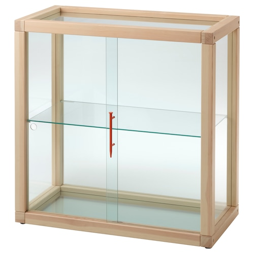 IKEA MARKERAD Glass-door cabinet