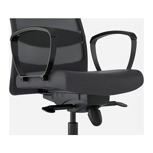 MARKUS - Office chair, Glose black Robust black