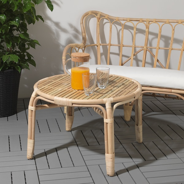 MASTHOLMEN coffee table, outdoor 45 cm 68 cm
