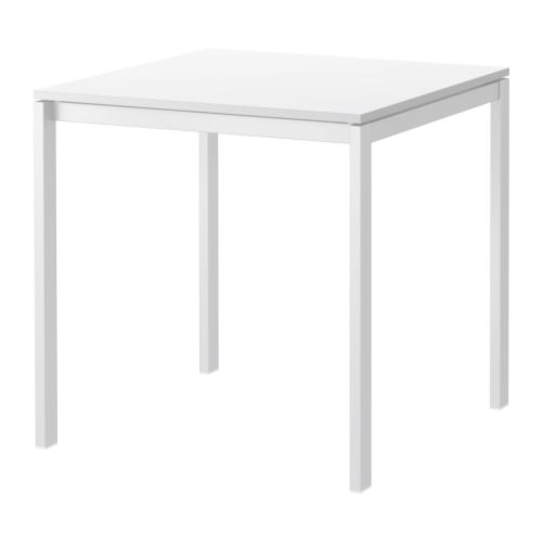 MELLTORP Table IKEA The melamine table top is moisture resistant, stain resistant and easy to keep clean.  Seats 2.