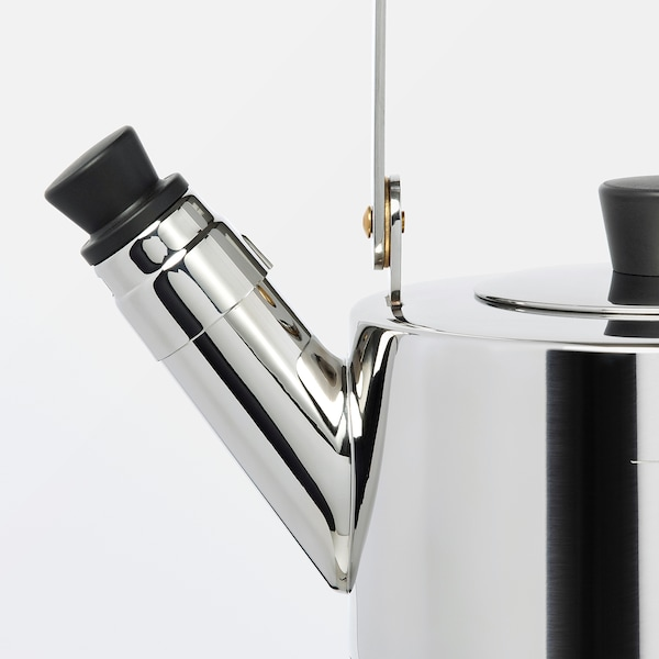 METALLISK Kettle, stainless steel, 1.5 l