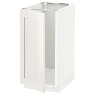 METOD base cab f sink/waste sorting white/Sävedal white 40.0 cm 61.8 cm 60.0 cm 80.0 cm
