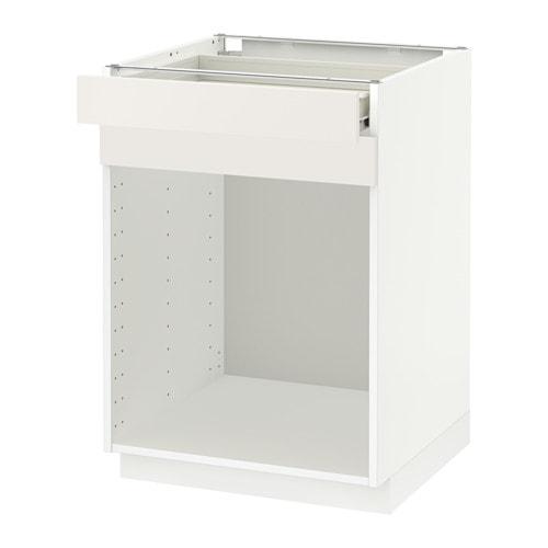 metod base cabinet f steriliser drawer f s vedal white ikea. Black Bedroom Furniture Sets. Home Design Ideas
