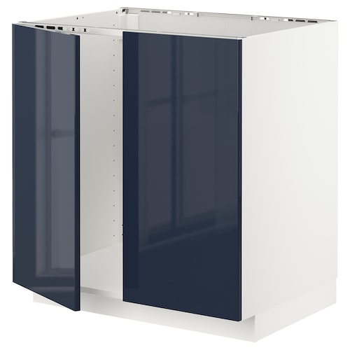 IKEA METOD Base cabinet for sink + 2 doors