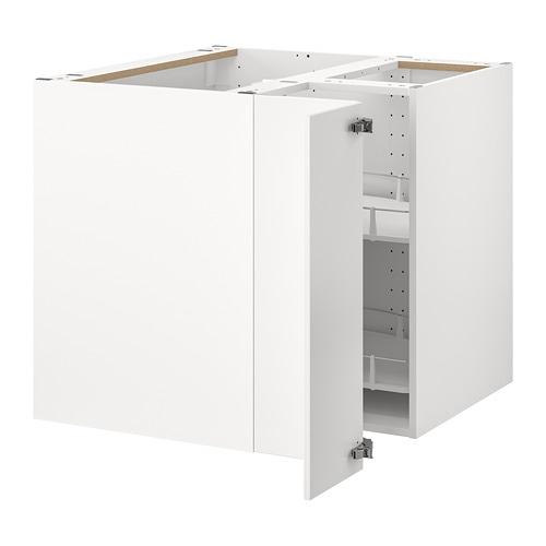 Ikea Kitchen Corner Cabinet: METOD Corner Base Cabinet With Carousel