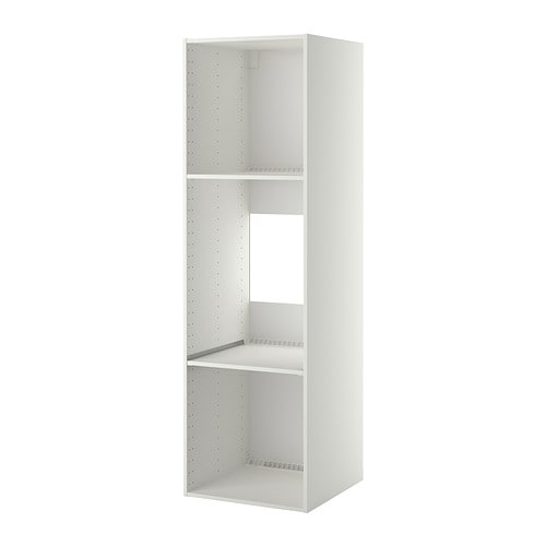 Metod High Cabinet Frame For Fridge Oven White