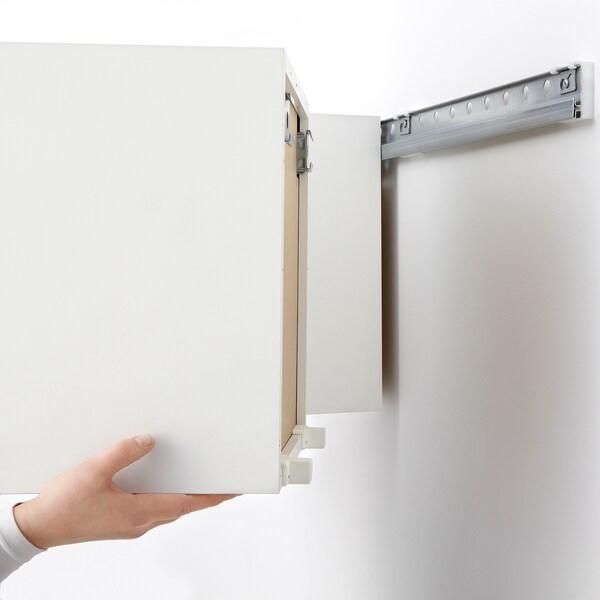 METOD Suspension rail - galvanised - IKEA