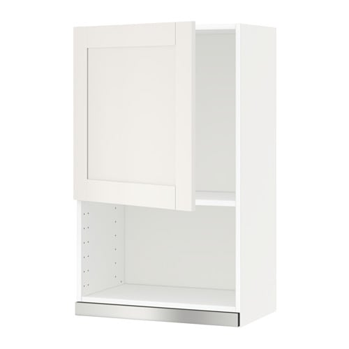 Metod Wall Cabinet For Microwave Oven S 228 Vedal White