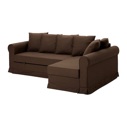 MOHEDA Corner sofa-bed IKEA The chaise longue can be placed to the left or right of the sofa; change whenever you like.