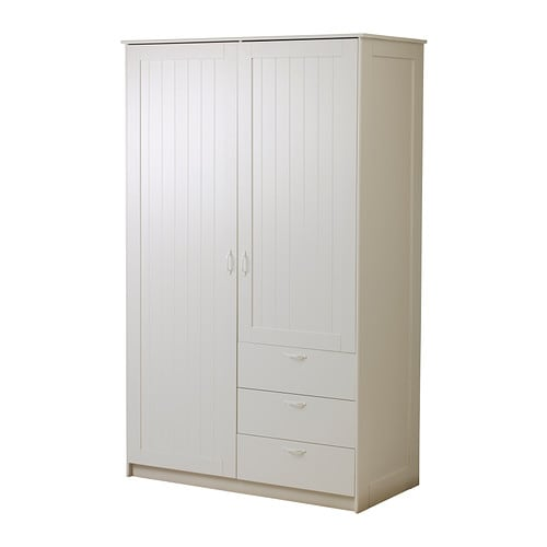 Musken Wardrobe With 2 Doors 3 Drawers Ikea