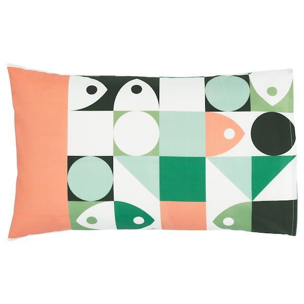 MUSSELBLOMMA Cushion cover, multicolour, 40x65 cm