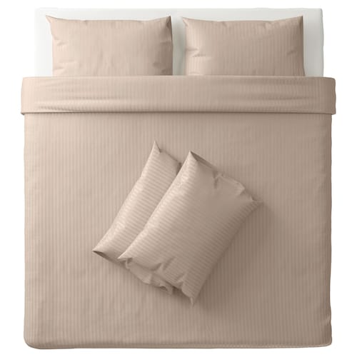 IKEA NATTJASMIN Quilt cover and 4 pillowcases