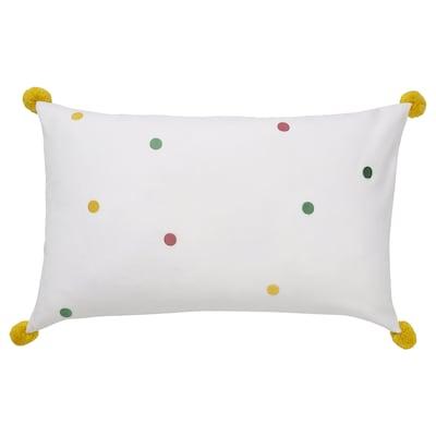 NATTSLÄNDA Cushion cover, dot pattern multicolour, 40x65 cm