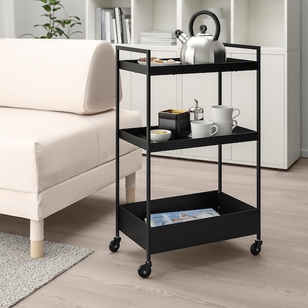 NISSAFORS trolley black 11 kg 50.5 cm 30 cm 83 cm 33 kg