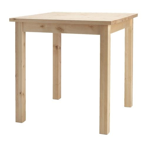 norden table ikea solid wood is a hardwearing natural material