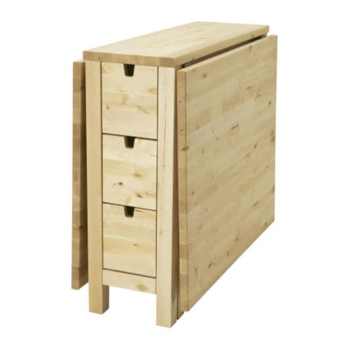 Ikea Godmorgon Cabinet Review ~ NORDEN Gateleg table IKEA You can store for example cutlery, table