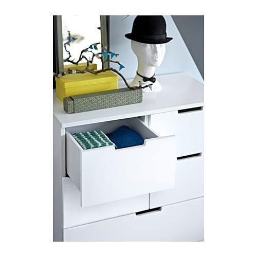 NORDLI Chest of 7 drawers IKEA Of course your home should be a safe place for the entire family.
